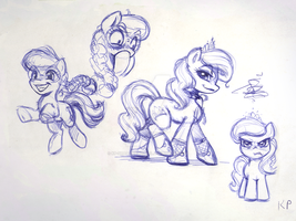 Sugarlump Sketches by KP-ShadowSquirrel