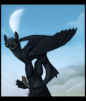 Toothless by DoruDrutt