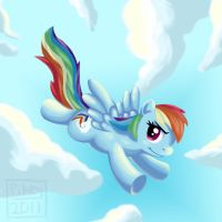 Rainbow DASH by Strange-ThingsHappen