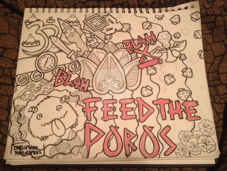 Feed the Poros! by chelsealearn