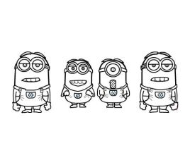 How to draw Minions from Despicable Me 2 Part 2 by SketchHeroes