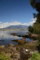 The Wreck Otago with Mt Wellington, Tasmaina by GrumpySnapper