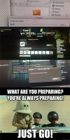 What are you preparing?! meme by Dioxim