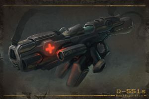 Healing Rifle by SirenD
