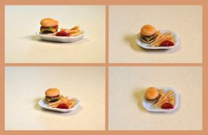 Miniature Cheeseburger by pipoca6694