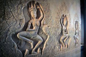 Apsaras of Angkor 01 by DrMcKenna