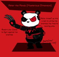 Peter the Panda (Mysterious Dimension) by RedJoey1992