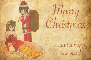 Marry Christmas 2011 by ALostSoul13
