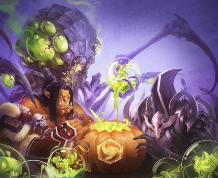Heros of the Storm-Halloween 2014 by linxz2010
