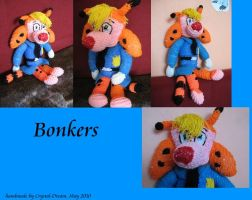Bonkers as a plushie by Crystal-Dream