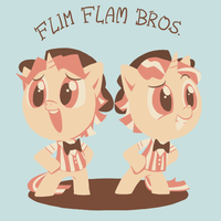 FLIM FLAM BROS. by Ssalbug