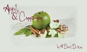 apple cinnamon mini soap by ADarkDezine