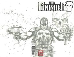 The Punisher Sketch Cover 2 by Ace-Continuado