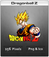 Dragonball Z - Anime Icon by DevilL-Dante