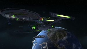 Assimilated Constitution-Class by USSNavras