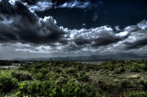 Storm Brewing Over Islamabad by InayatShah