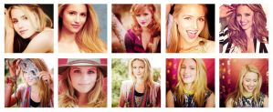 10 Icons PNG Dianna Agron by editionrocks