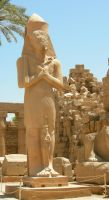 egyptian statue 2 by tailcat