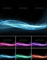 Wavy Abstract Background by GrapicRiver