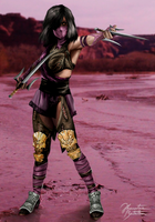 Mortal Kombat X - Mileena (Tournament) by JhonatasBatalha