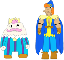 SuperTime-Earth Geno and Mallow by jacobyel