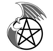 Pentacle Tattoo design 1 by Rustyoldtown