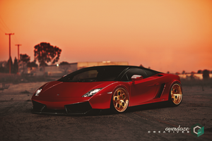Lamborghini Gallardo - The Edge by OverdozeCreatives