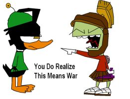 You Do Realize This Means War by invderzimfannumber1