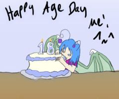 Happy Age Day Me by Ms-Silver