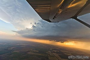 Storms from a plane 1 by CRELLIOTT0302