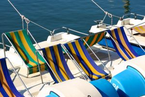 Colorful Boats by DeviantTeddine
