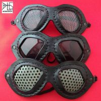 Leather goggles... after the bombs fell by barlogg