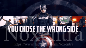 Captain America by N0xentra