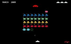 Space Invaders by pyonpyon