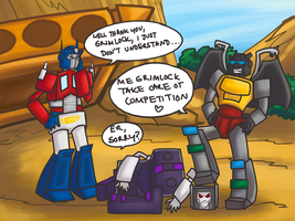 grimlock doesn't compete by spacehussy