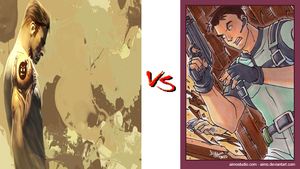 Serious Sam VS Chris Redfield by DeRpYhOoVvEs