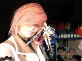 Lightning eclair farron cosplay by Lightninglouise