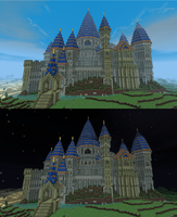 Another Minecraft Castle by jelmobu