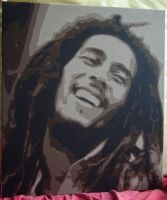 Bob Marley by freedeebloke
