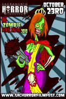 Hot Zombie Beauty Pageant by mikehampton
