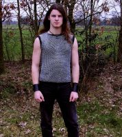 Wearing chainmail by Metalheank