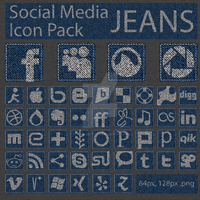 Social Media Network Icons by FifteenCentIcons
