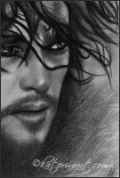 Is his watch really over? jon snow speed sketch by Katerina-Art