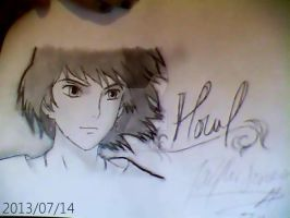 Howl from Howl's Moving Castle by BloodyXxBanshee