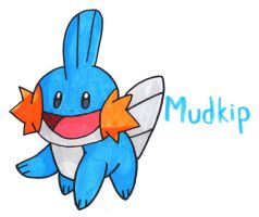Mudkip by YouCanDrawIt