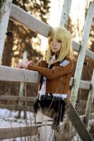 Christa Renz - Attack on titan by naoch