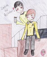 Sulu and Chekov by Cats-Eye-93