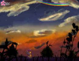 Don't Hang Your Dreams On A Rainbow by CloudDG