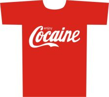 T-Shirt: Cocaine by 6OTAH