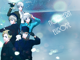 Hetalia Northern Europe Wallpaper by Sammier0ck